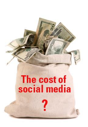 the cost of social media