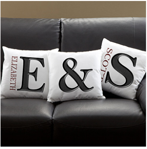 Branded pillows
