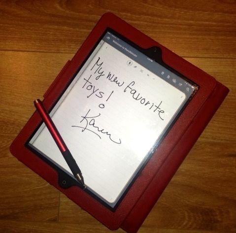 iPad clutch for branding diva