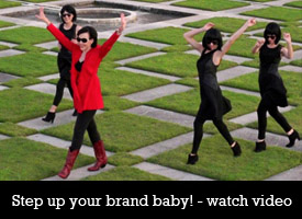 step up your brand Branding Boogie – Five steps to kick up your brand!