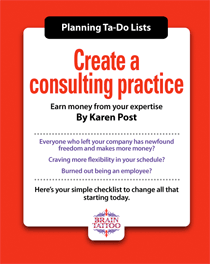 Create a consulting practice