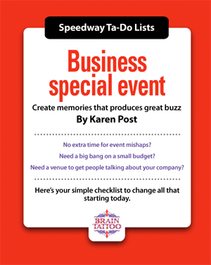 Business special event to do list