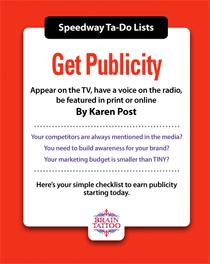 Get publicity