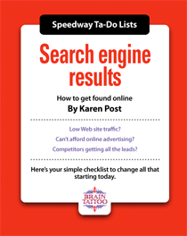 Search engine results - SEO